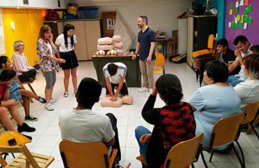 La Rioja Cardioprotegida y Fundación Pioneros forman a jóvenes