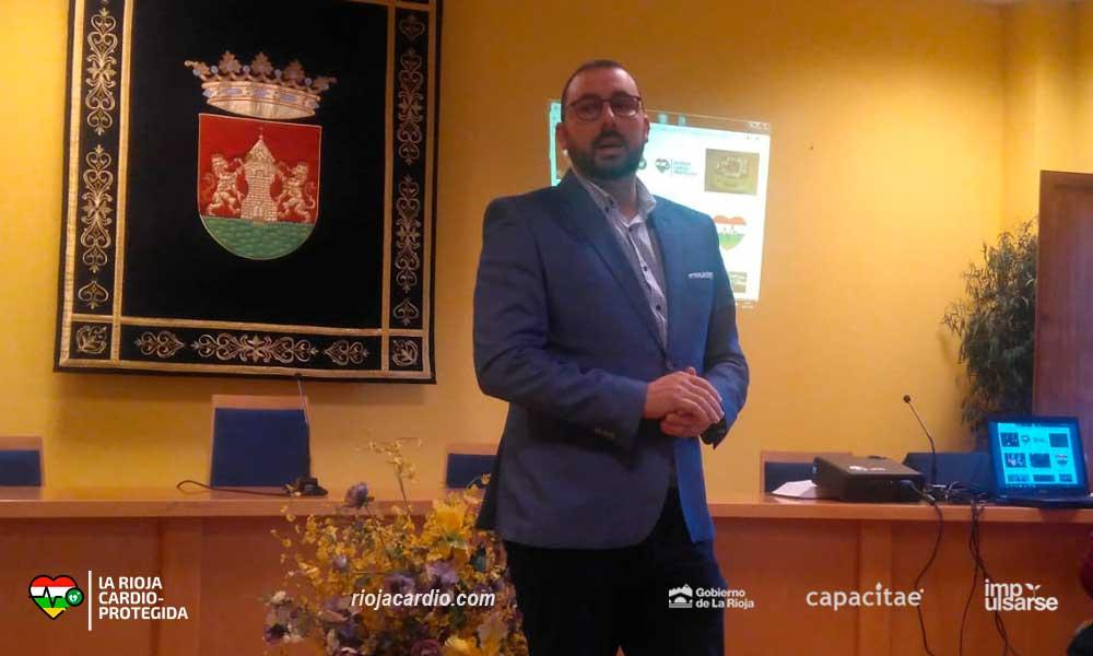 Presentación de 'La Rioja Cardioprotegida' en Torrecilla de Cameros