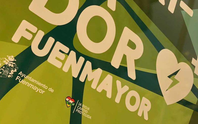 Fuenmayor instala un desfibrilador público en el centro del municipio
