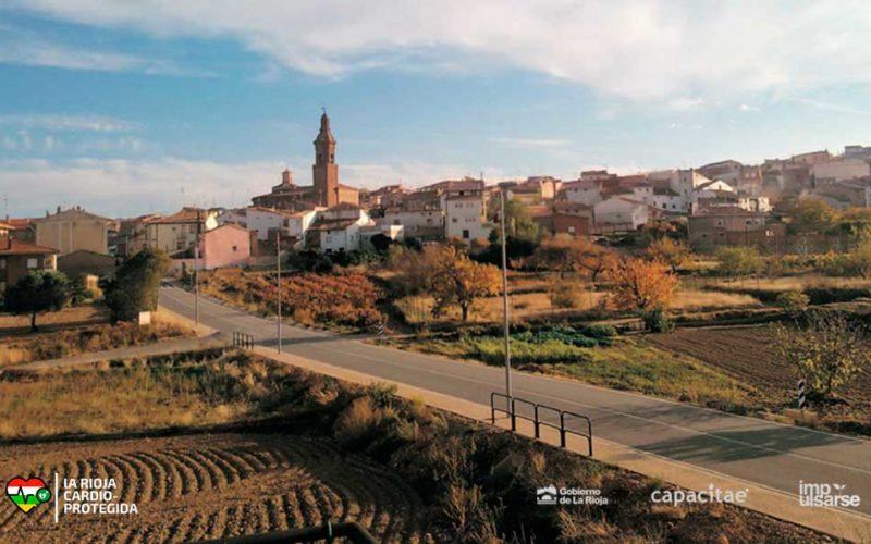 Tudelilla, primer municipio adherido a 'La Rioja Cardioprotegida'